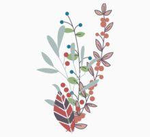 Flowers 001 One Piece - Short Sleeve