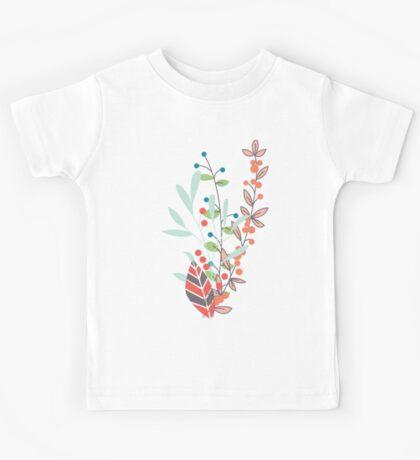 Flowers 001 Kids Tee