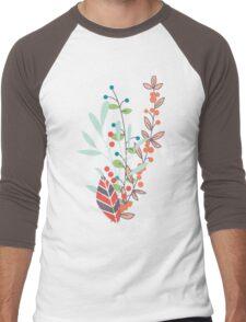 Flowers 001 Men's Baseball ¾ T-Shirt
