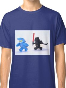Lego Star Wars Darth Vader and Shark Suit Guy Pursuit Minifigure Classic T-Shirt