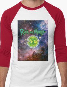 Rick and Morty Galaxy Men's Baseball ¾ T-Shirt