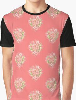 Rococo Wonderland: The Roses Graphic T-Shirt
