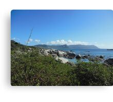 Indian Ocean - South Africa - Scenery  Canvas Print