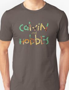 calvin and hobbes font Unisex T-Shirt
