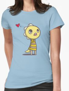 Monster Kid Womens Fitted T-Shirt