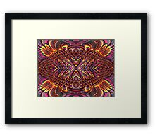 Feathering  Framed Print