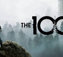 season 3 clarke the 100 logo Sticker