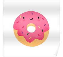 Happy donut Poster