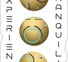 Zenyatta - Experience Tranquility Sticker