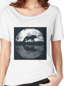 wolf hunt Women's Relaxed Fit T-Shirt