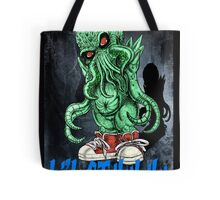 HP LOVECRAFT LIL CTHULHU (BACK GROUND) Tote Bag