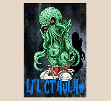 HP LOVECRAFT LIL CTHULHU (BACK GROUND) Unisex T-Shirt