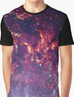 Star Field in Deep Space Graphic T-Shirt