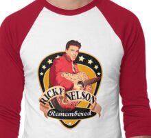 Remembered Ricky Nelson Men's Baseball ¾ T-Shirt