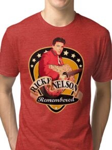 Remembered Ricky Nelson Tri-blend T-Shirt