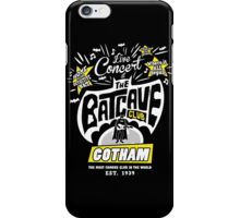The Batcave Club iPhone Case/Skin