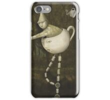 Teacup Greetings iPhone Case/Skin
