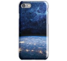 Earth and Galaxy iPhone Case/Skin
