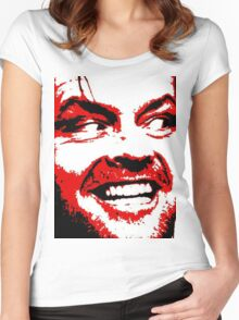 Here's Johnny Women's Fitted Scoop T-Shirt