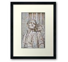 Love endures forever Framed Print
