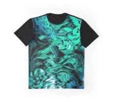 Alien Markings (green-blue) Graphic T-Shirt
