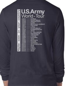 US Army World Tour Long Sleeve T-Shirt