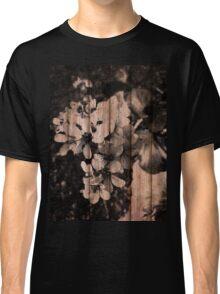 Grunge Flowers  Classic T-Shirt