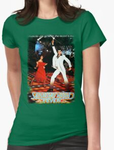 Saturday Night Fever Womens Fitted T-Shirt