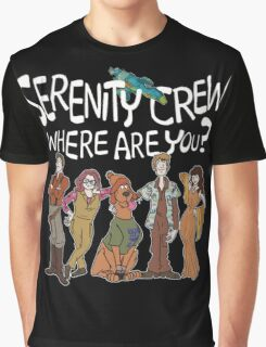 Serenity Crew, Where Are You Graphic T-Shirt