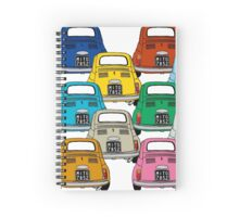 Fiat 500, the italian army Spiral Notebook