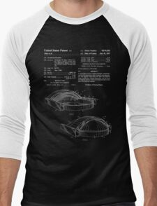 Stadium Patent - Blueprint Men's Baseball ¾ T-Shirt