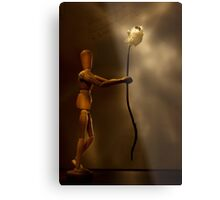 Wooden love Metal Print