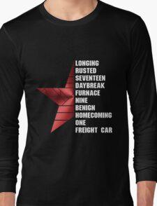 bucky's triggers Long Sleeve T-Shirt
