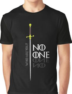 No One  Graphic T-Shirt