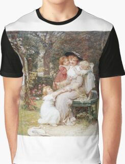 Vintage famous art - Frederick Morgan - Me Too  Graphic T-Shirt