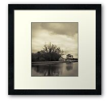 Winters Day at Lake Wendouree Framed Print