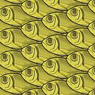 Yellow Fish Pattern by Colin Bentham