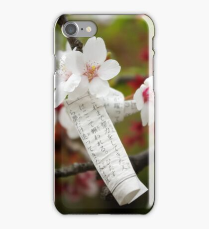 Bad fortune, new hope iPhone Case/Skin