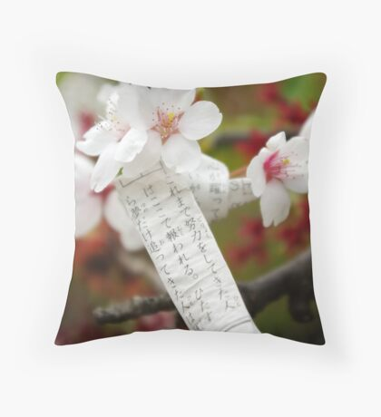 Bad fortune, new hope Throw Pillow