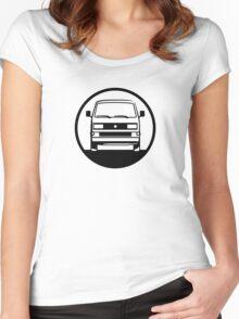 BulliRider - Bus 3.2 (only) Women's Fitted Scoop T-Shirt