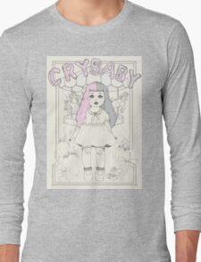 ♡ CRYBABY vintage illustration ♡ Long Sleeve T-Shirt