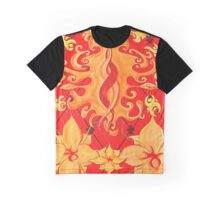 Kundalini, Love, Lotus, red, Flower, Spirituality Graphic T-Shirt