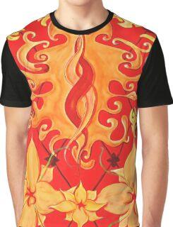 Kundalini, Love, Lotus, red, Flower, Spirituality Graphic T-Shirt
