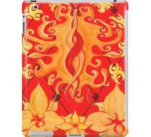 Kundalini, Love, Lotus, red, Flower, Spirituality iPad Case/Skin