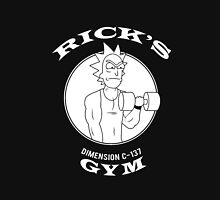 Rick's Gym - Rick and Morty Unisex T-Shirt