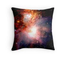 Space Nebula Throw Pillow