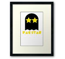 PAC-STAR Framed Print
