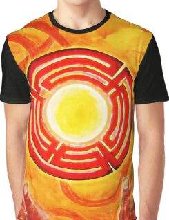 Magic Hands, Spirituality, orange, earth, flower Graphic T-Shirt