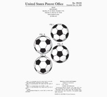 Soccer Ball Patent - Colour Baby Tee