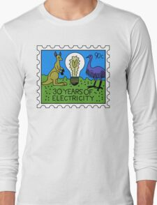 30 Years of Electricity Long Sleeve T-Shirt
